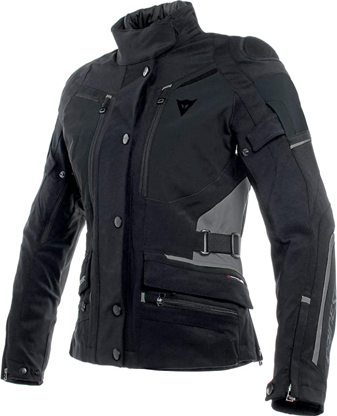 Dainese Motorradjacke mit Protektoren Motorrad Jacke Carve Master 2 GTX Damen Textiljacke, Tourer, Ganzjährig
