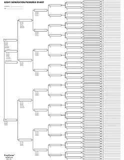 amazon com family tree working chart 16 4ft 10 generations