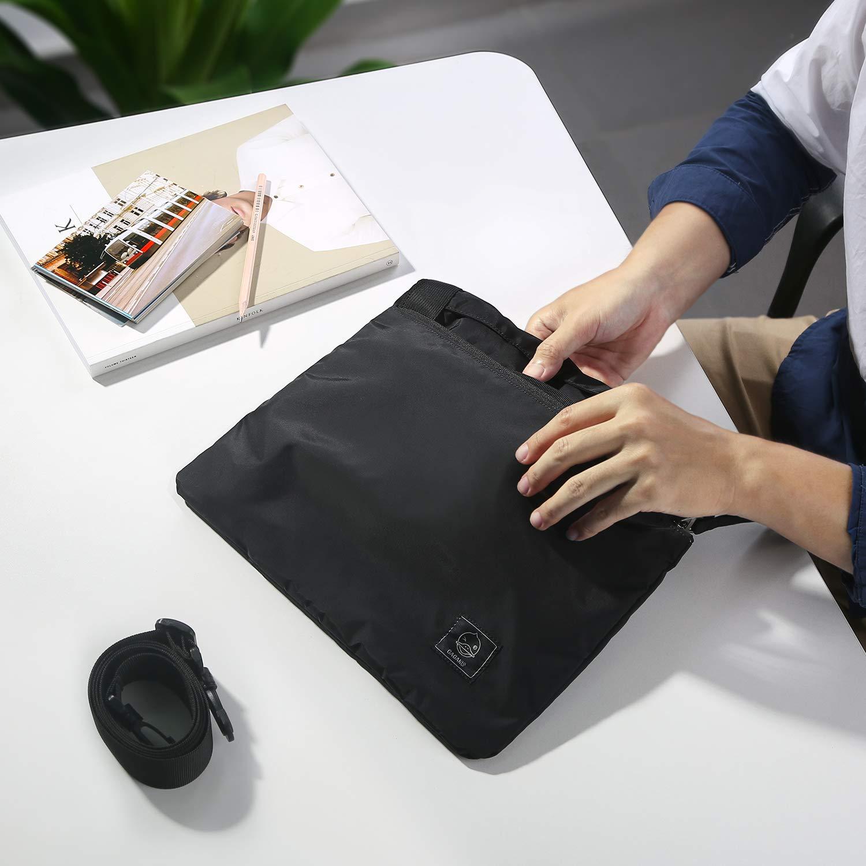 GAGAKU 80L Foldable Travel Duffel Bag Packable Lightweight Duffle Large Flight Cabin Bags for Travel - Black by GAGAKU (Image #7)