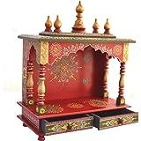 Kamdhenu Art And Craft Wooden Temple/ Home Temple/ Pooja Mandir/ Pooja Mandap/ Temple For Home