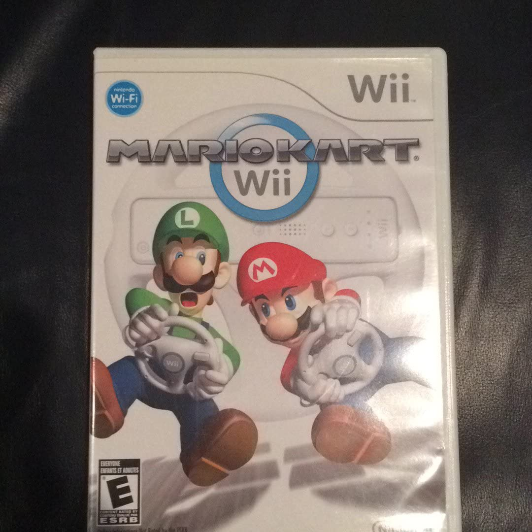 Amazon Com Mario Kart Wii Nintendo Of America Video Games