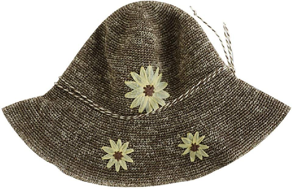 Coffee UV Protection Sunshade Floppy Foldable Sunhat Opef Casual Straw Beach Hats for Women Ladies
