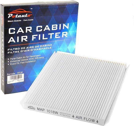 POTAUTO MAP 1018W (CF10728) High Performance Car Cabin Air Filter Replacement for HYUNDAI
