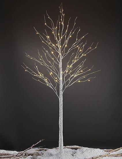 lightshare 8ft 132 led birch treehomefestivalpartychristmasindoor