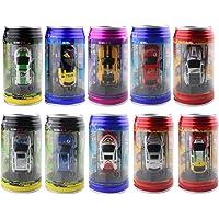 iKKEGOL Mini Coke Can RC Radio Remote Controlled Micro Racing Car Toy Vehicles Random Gift