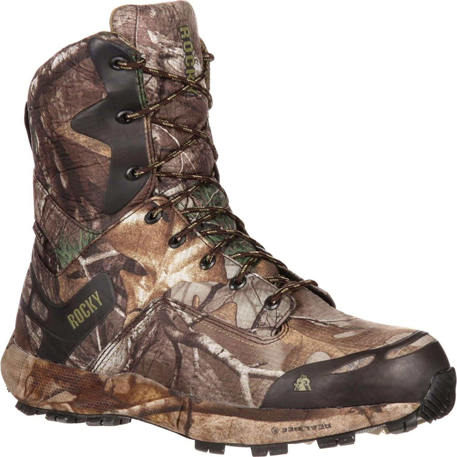 "Rocky Men's 8"" Retraction Waterproof Insulated Outdoor Boot-RKS0203 (W11.5)"