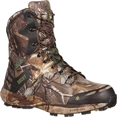 "Men's 8"" Broadhead Waterproof Insulated Outdoor Boot-RKS0193 (M11)"