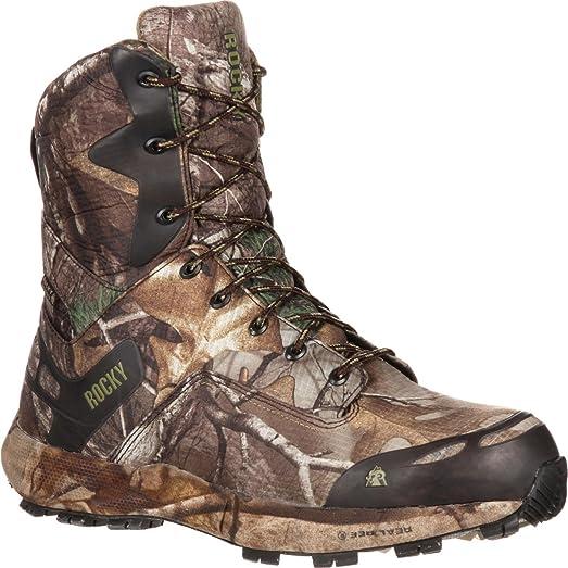 "Men's 8"" Broadhead Waterproof Insulated Outdoor Boot-RKS0193 (W8.5)"