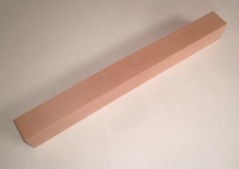 Bastellholz. Martin Weddeling Drechselholz 29x29x200mm lang Kantholz Buche