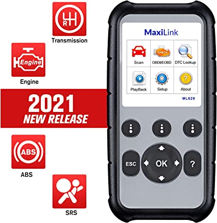 Autel Maxilink ML619 ABS SRS OBD2 Scanner (Update 2021)