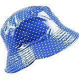 5b012d6a1833c Lluvia sombrero mujer Reversible de lluvia sombrero meteorológica ...