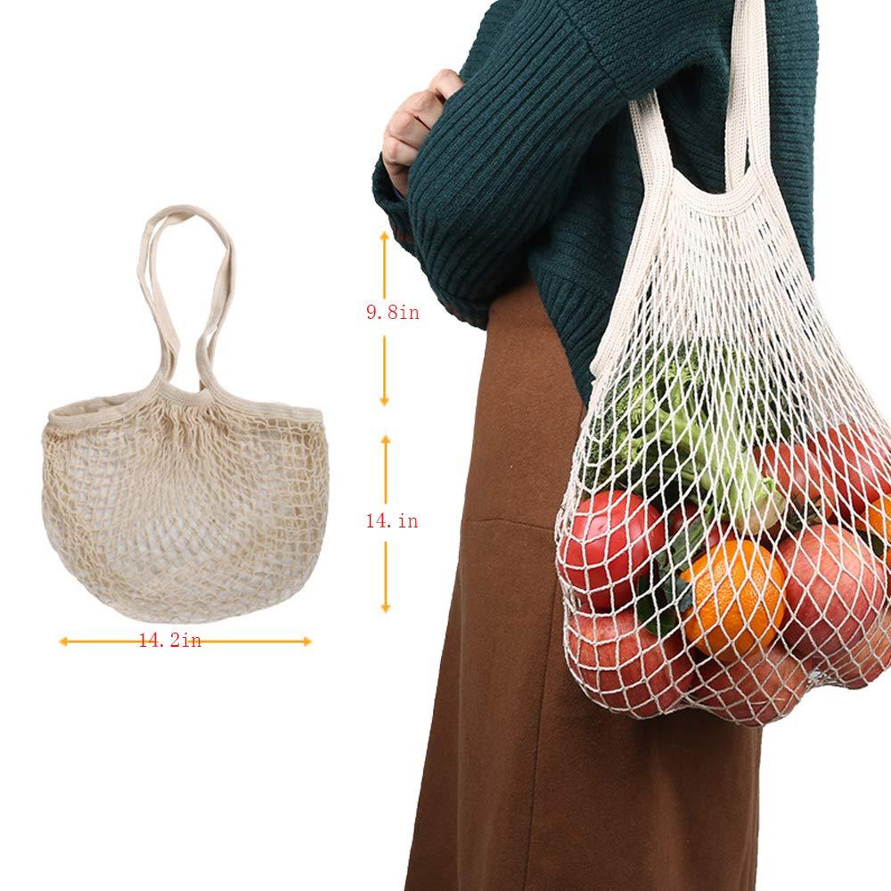 biodegradabile e lavabili mesh frutta verdure verdure cotone organico verdure borse confezione riciclabile lavabile in lavatrice mesh Bags eco-friendly kitchen-dream reusable produce Bags