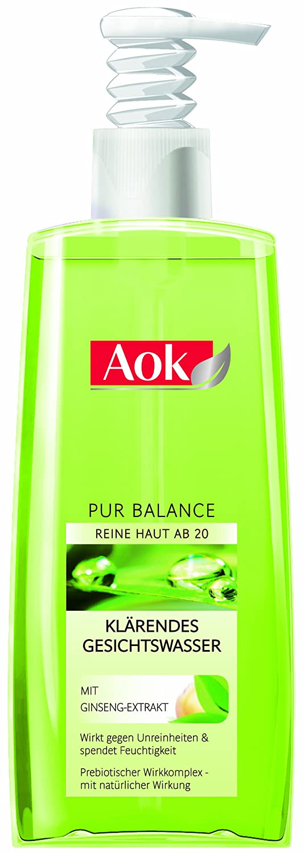 Aok Klärendes Gesichtswasser mit Ginseng-Extrakt, 6er Pack (6 x 200 ml) PBGW