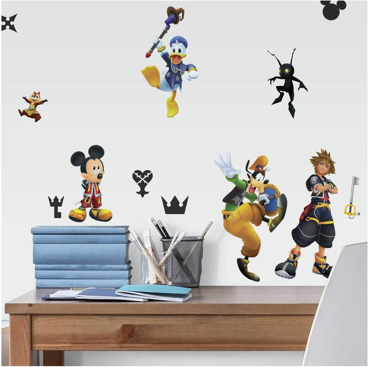 RoomMates Kingdom Hearts Peel And Stick Wall Decals