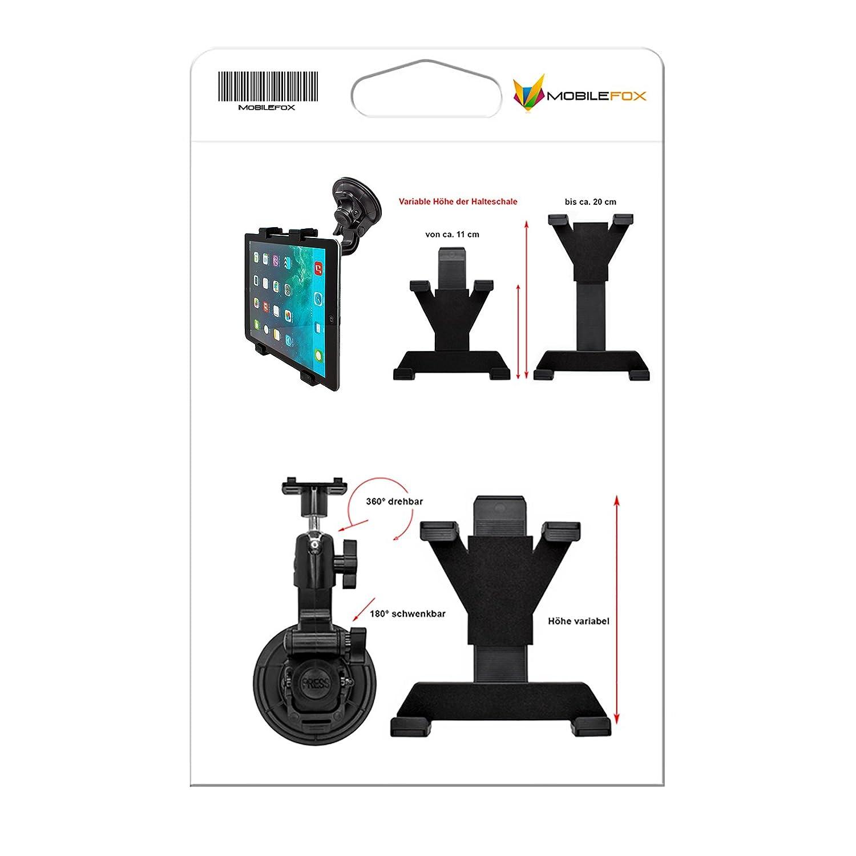 Mini 2 2 Air iPad Mini 3 Mini 3 Apple iPad//Air 2 mobilefox Support de Voiture Rotatif /à 360/° pour Tablette PC Mini 2 4//3