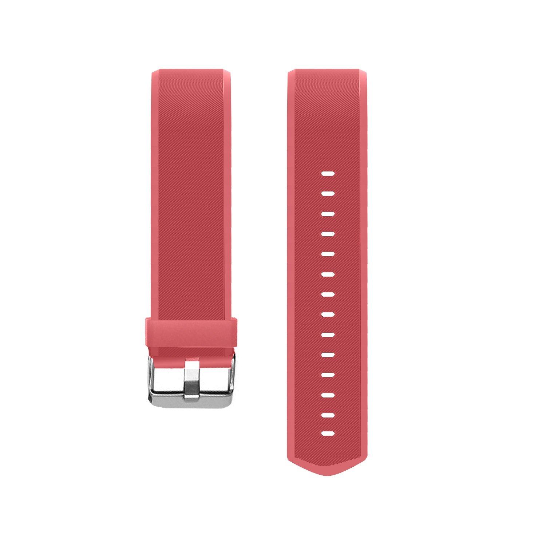 moreFit Slim HR Plus Band, Adjustable Replacement Strap for Slim HR Plus Smart Bracelet Black