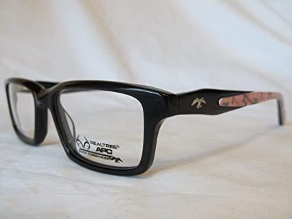 f02b6f20d82 Amazon.com  REALTREE EYEGLASS FRAME WOMEN D116 BLACK   PINK CAMO 52-17-140   Everything Else