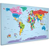World map in the style of a tube metro subway underground map of the world map with big text for kids canvas art print 22x34 gumiabroncs Choice Image