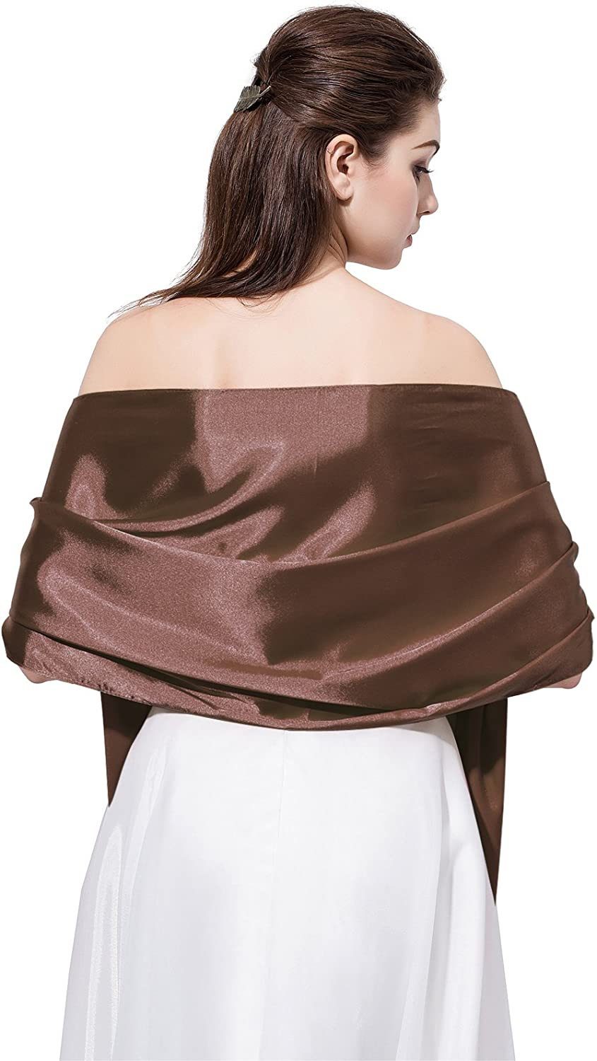 LD DRESS Satin Shawl Wrap