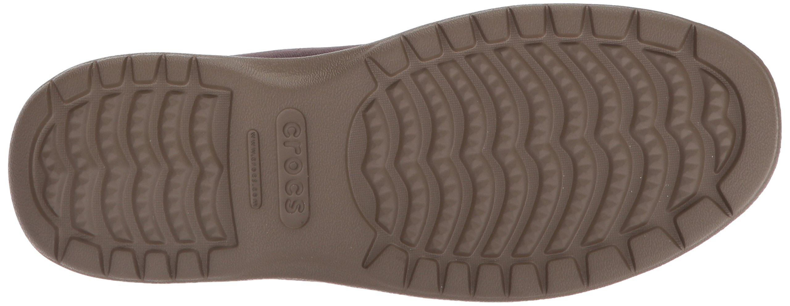 9f92f4579f5 Crocs Men's Santa Cruz Convertible Slip-On Loafer, Espresso/Walnut, 7 M US