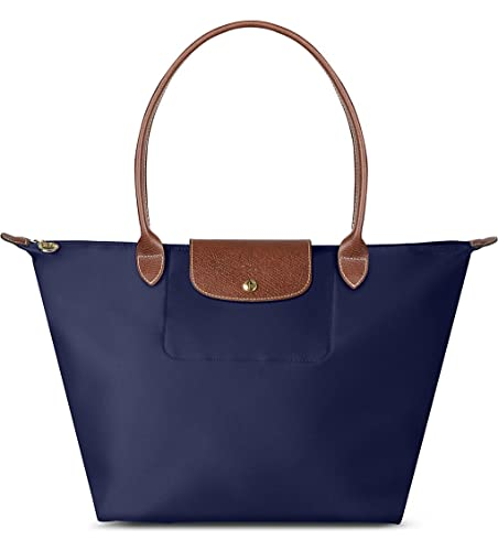 effc36886b20 LONGCHAMP Le Pliage Large Folding Tote Navy  Amazon.co.uk  Shoes   Bags