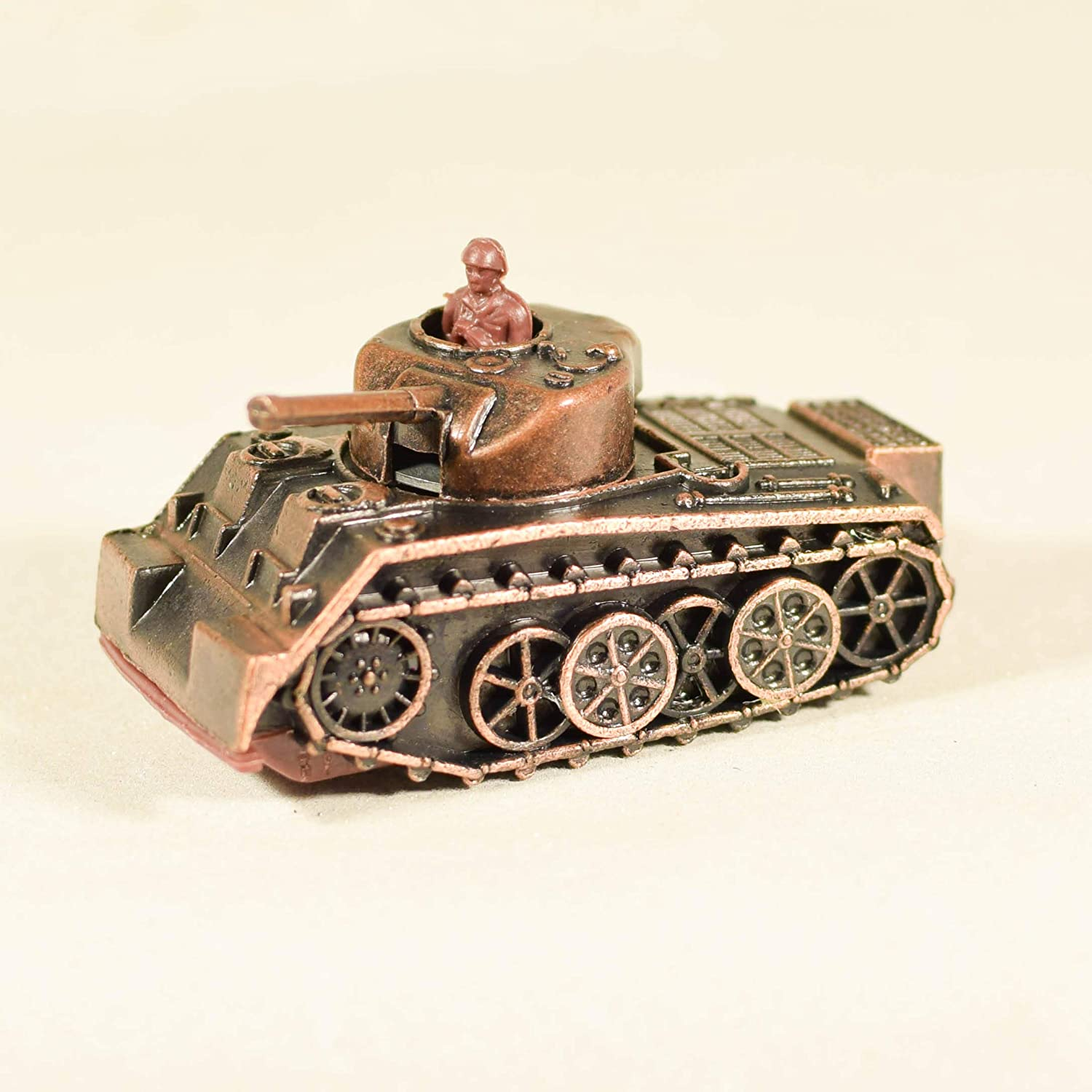 Metal Die Cast Army Tank Sharpener Antique Finished Car Miniature Pencil Sharpener SB