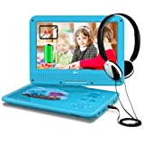 """Amazon Price History for:DR.J 5 Hours 9.5"""" Kids Portable DVD Player with Built-in Rechargeable Battery and USB/SD Card Reader, 5.9ft Car Charger & AC Battery Adapter"""