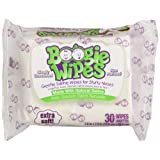 Amazon Price History for:Boogie Wipes Natural Saline Kids and Baby Nose Wipes for Cold and Flu, Unscented, 30 Count (Pack of 3)