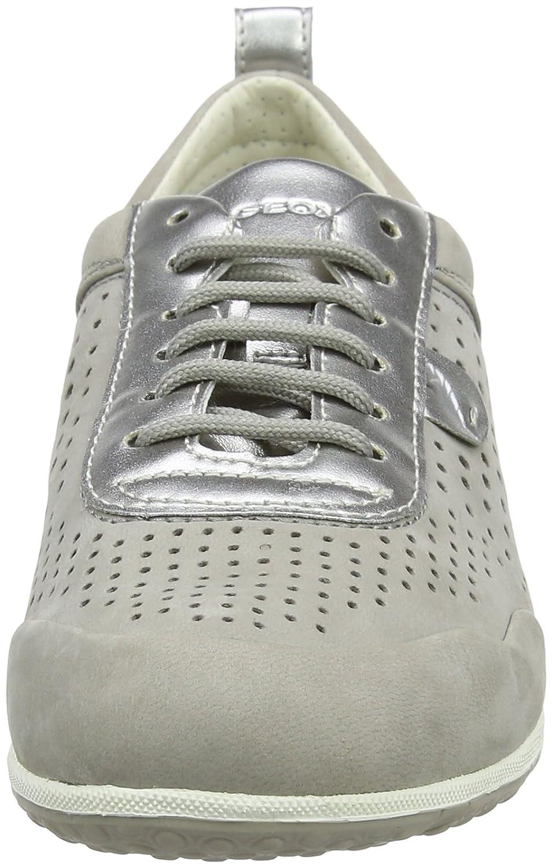 Geox Damen D Grau Vega B Sneaker Grau D (Lt Grau) 342093