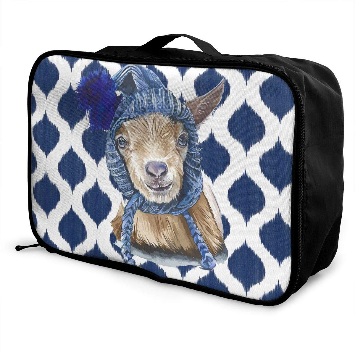 Portable Luggage Duffel Bag Lawson The Goat Travel Bags Carry-on In Trolley Handle