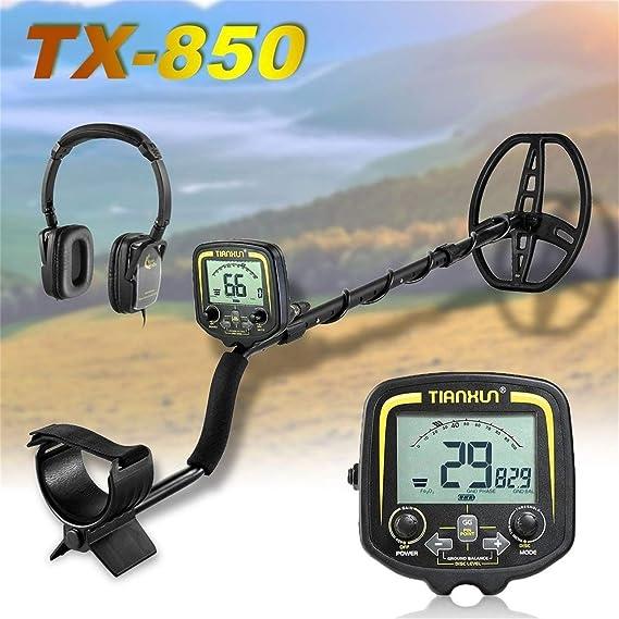 Detector de metales profesional TX-850 Detector de profundidad subterránea de 2,5 m Buscador: Amazon.es: Bricolaje y herramientas