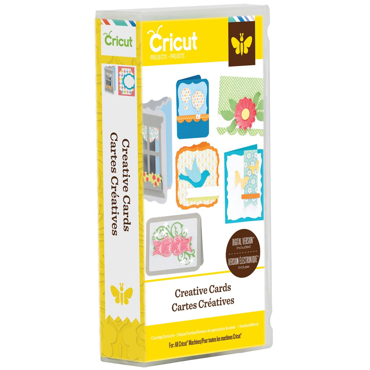 Provo Craft Cricut Project Creative Cards Cartridge, Acrylic Multicolour, 12.44x22.86x3.81 cm 2001984