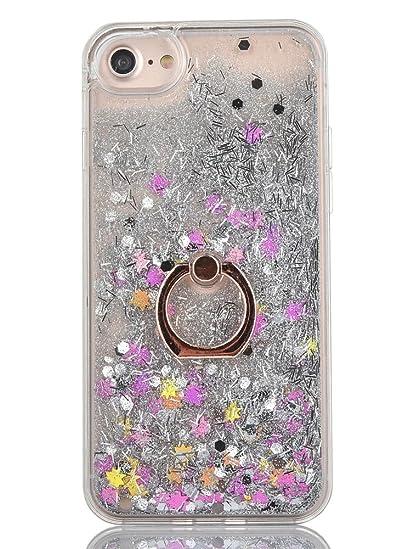 Amazon Com Iphone 7 Case Iphone 8 Case Finger Ring Stand Jaz