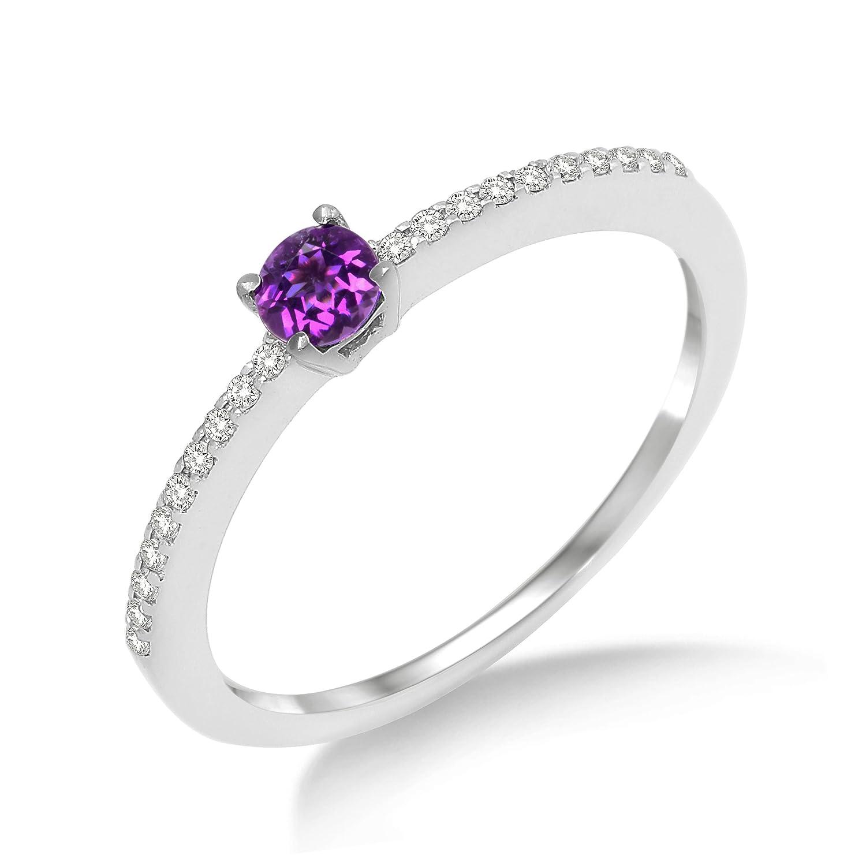 f261c35f3d9b Barato Miore MP9024R - Anillo de mujer de oro blanco (9k) con diamantes