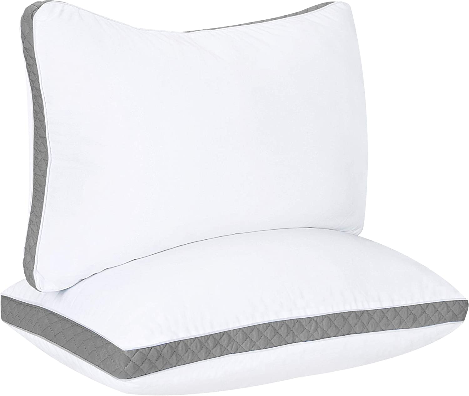 Best Gusseted Quilted Pillow For side and back sleepers review. Best Side back sleeper pillow.