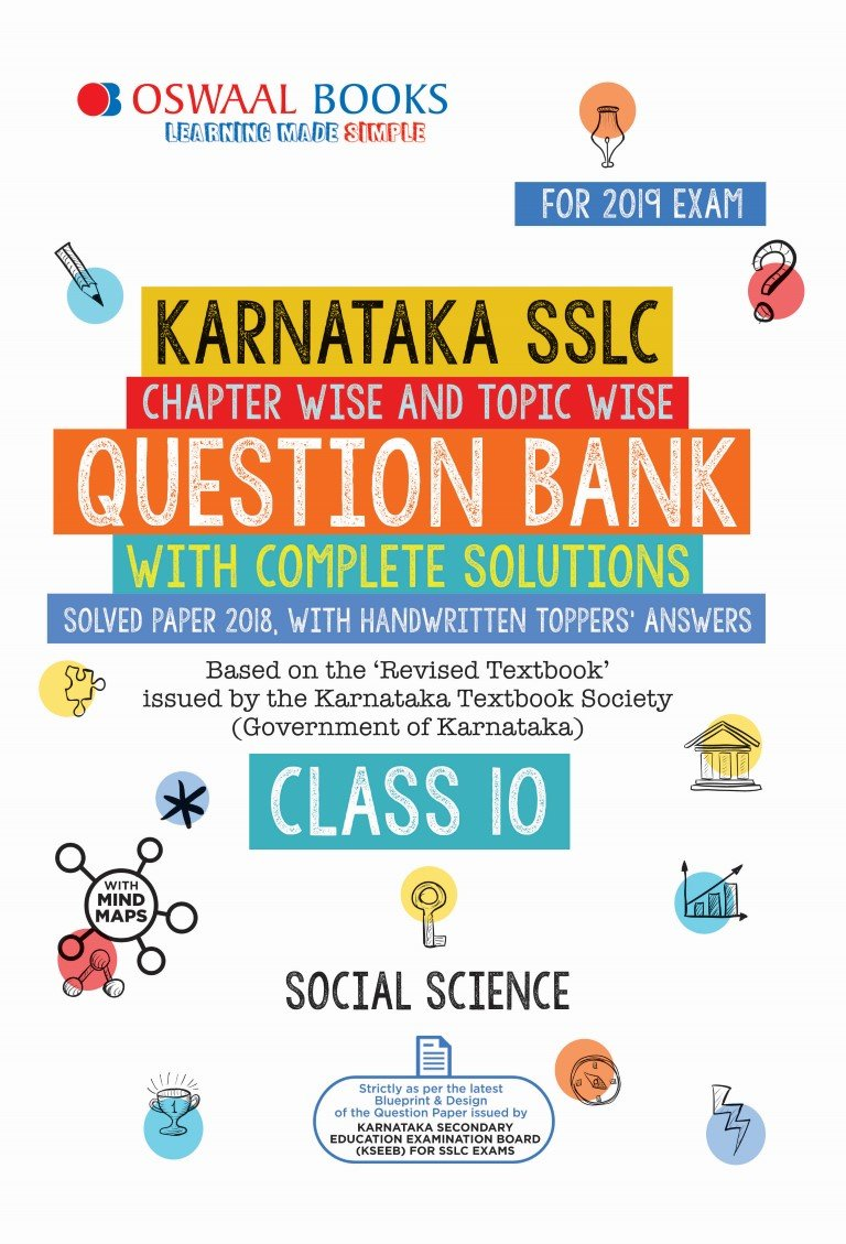 Oswaal Karnataka SSLC Question Bank Class 10 Social Science