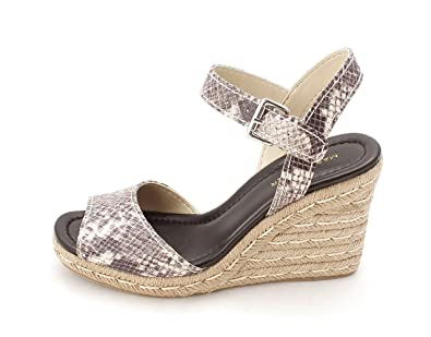 Marc Fisher Womens Maiseey2 Open Toe Casual Espadrille Sandals White Size 80