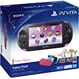 PlayStation Vita Value Pack ピンク/ブラック