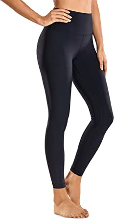 CRZ YOGA Women's Naked Feeling I High Waist Yoga Pants Workout Leggings with Pocket-25 Inches