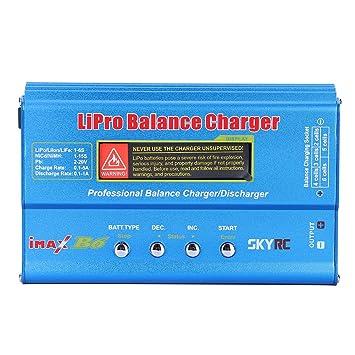 Arino SKYRC iMAX B6 Lipo NiMh NiCd 1S-6S Balance cargador y ...