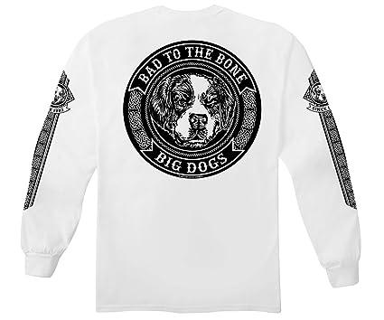 885684a0e87a Amazon.com: Big Dogs Bad To The Bone Tribal Long Sleeve T-Shirt ...