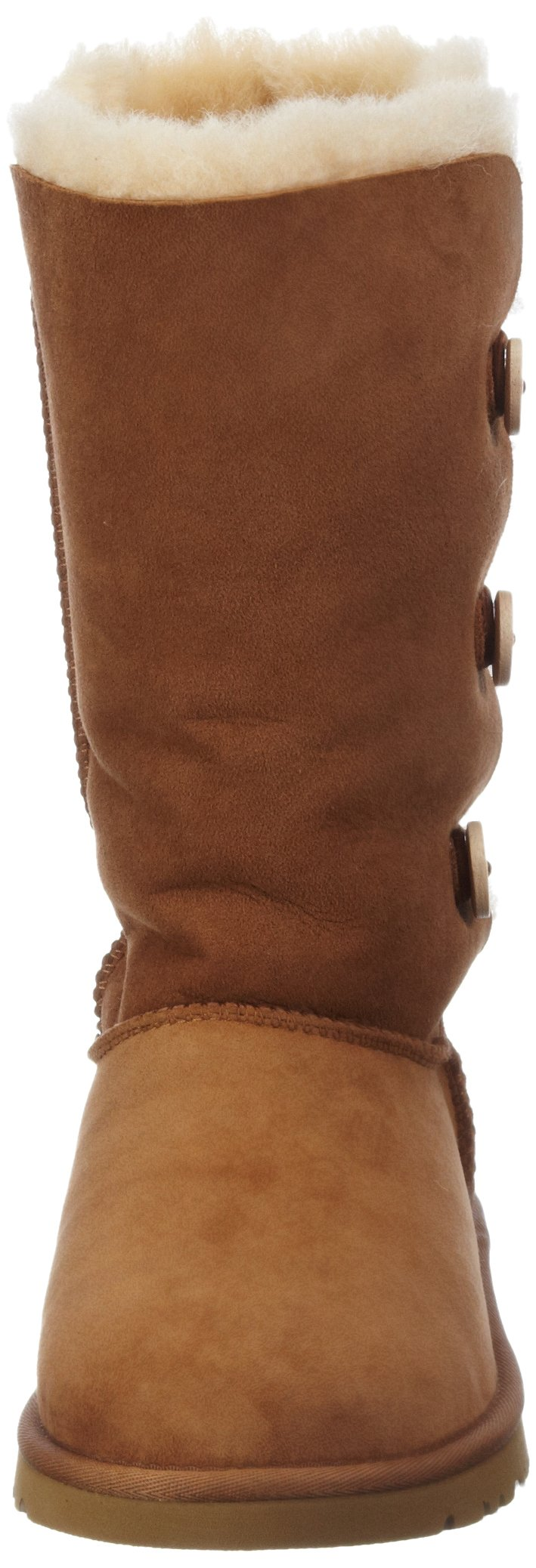 Kid's UGG Bailey Button Triplet chestnut size 4 us by UGG (Image #4)
