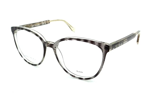 1355f12e598a Image Unavailable. Image not available for. Color  Jimmy Choo Rx Eyeglasses  Frames JC 139 LXA 53-17-140 Striped Glitter Brown