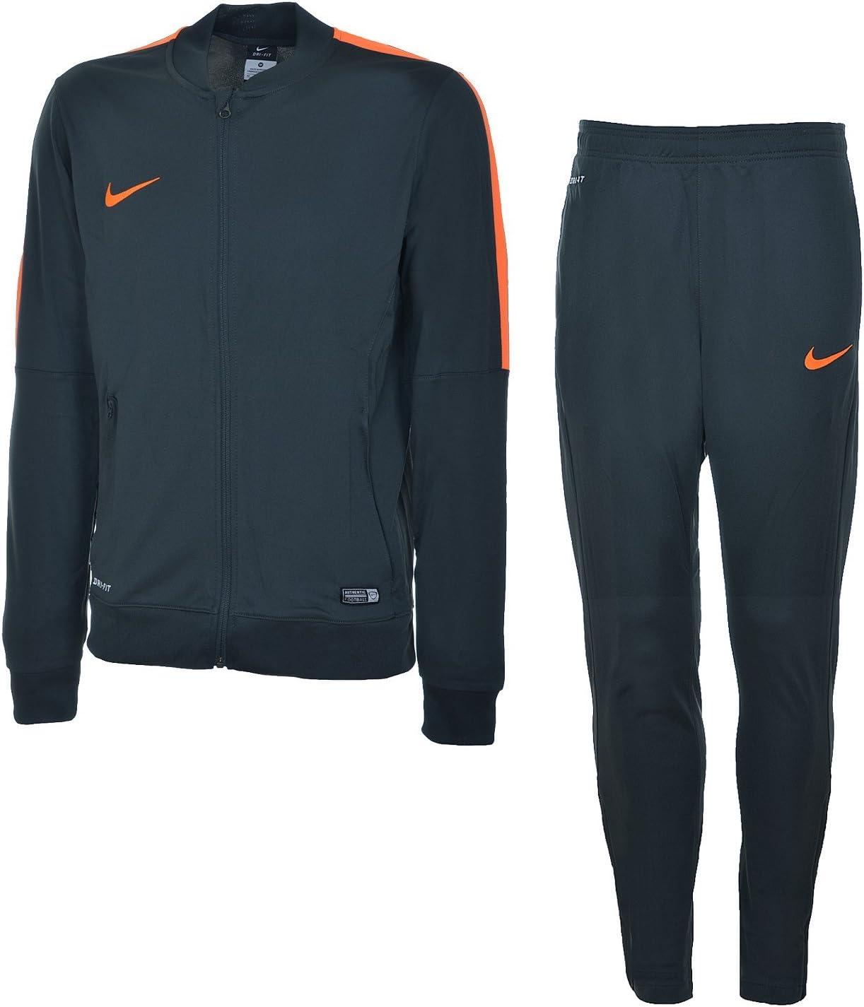 Nike Sportswear – Chándal para Hombre, Color Gris/Naranja, tamaño ...