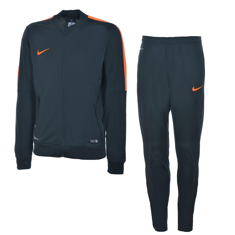 Nike Sportswear - Chándal para Hombre, Color Gris/Naranja, tamaño ...