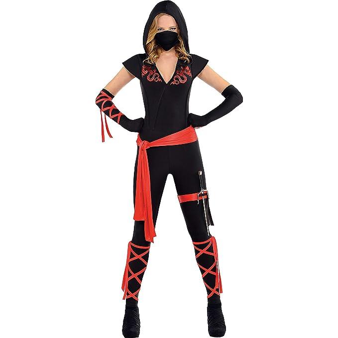 Amazon.com: amscan Dragon Fighter Adult Ninja Costume: Toys ...