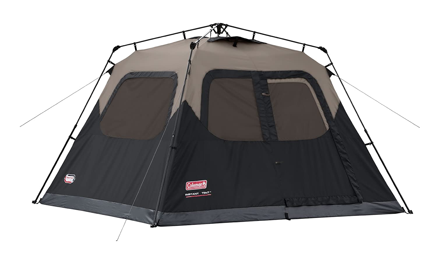 Coleman 6-Person Instant Cabin – Sturdy but dark