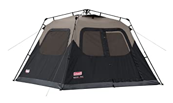Image result for Coleman 6-Person Instant Cabin Tent