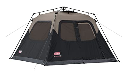 Coleman 6-Person Instant Cabin  sc 1 st  Amazon.com & Amazon.com : Coleman 6-Person Instant Cabin : Family Tents ...