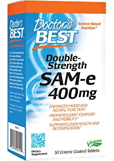 Doctors Best, SAM-e 400, Doble Fuerza, x30tabs